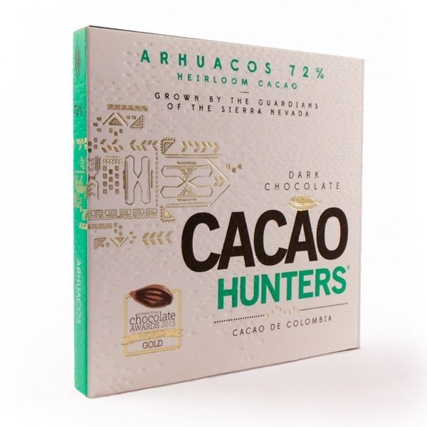 Cacao Hunters 72% Arhuacos