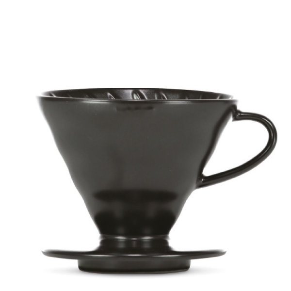 "Hario V60 Dripper ""Colour Edition"" matte black Size 02"