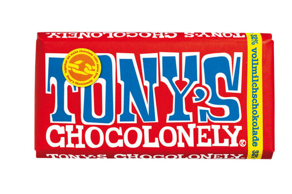 Tony´s Chocolonely Vollmilchschokolade 32% 180gr.